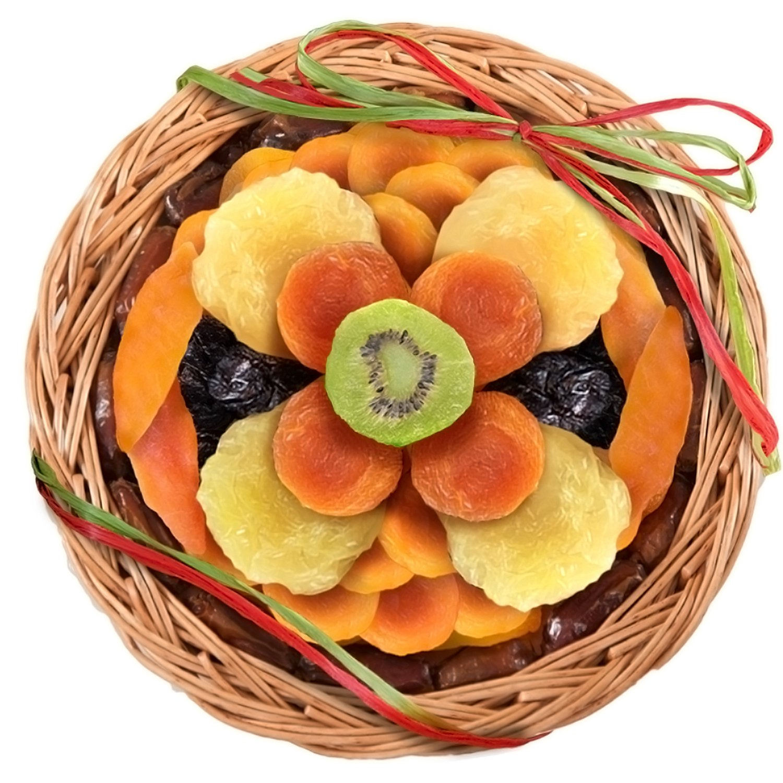 Golden State Fruit Sweet Bloom Dried Fruit Basket.