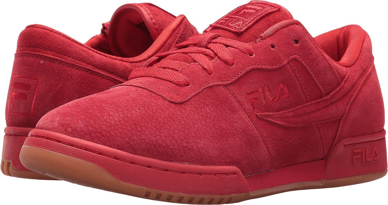 buy online 84cb2 ef2e4 Amazon.com   Fila Mens Original Fitness Zipper Suede Padded Insole Fashion  Sneakers   Fashion Sneakers