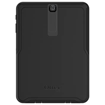 new style 9eb1a e1cc9 OtterBox 77-54006 Defender Series Synthetic Rubber Rugged Protective Case  for 9.7-inch Samsung Galaxy Tab S2 - Black