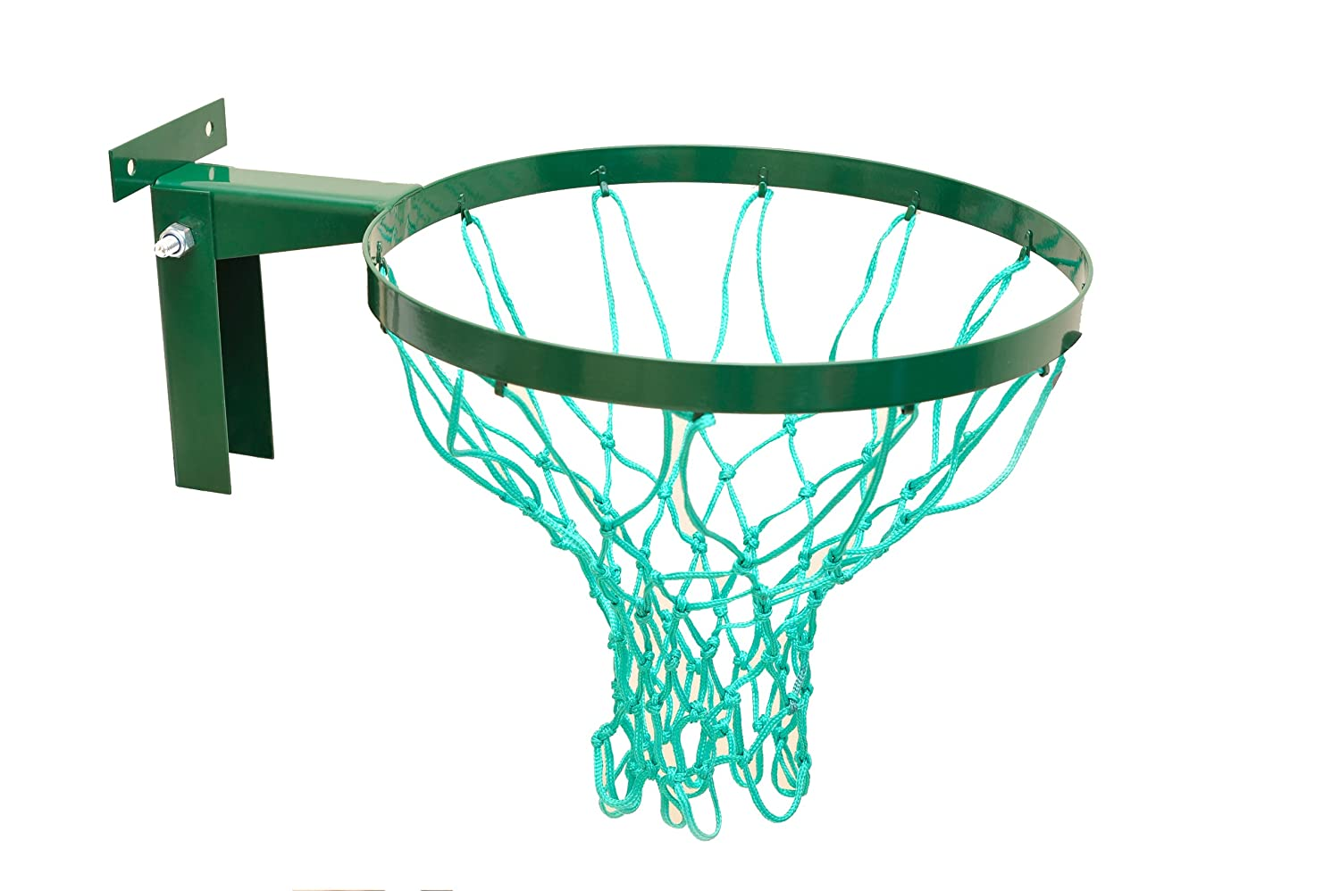 British Made Strong Netball Hoop from the Avonstar Classic Range (Robust Bracket, 2 years warranty) With top quality 3mm twine net. Avonstar Trading co. ltd.