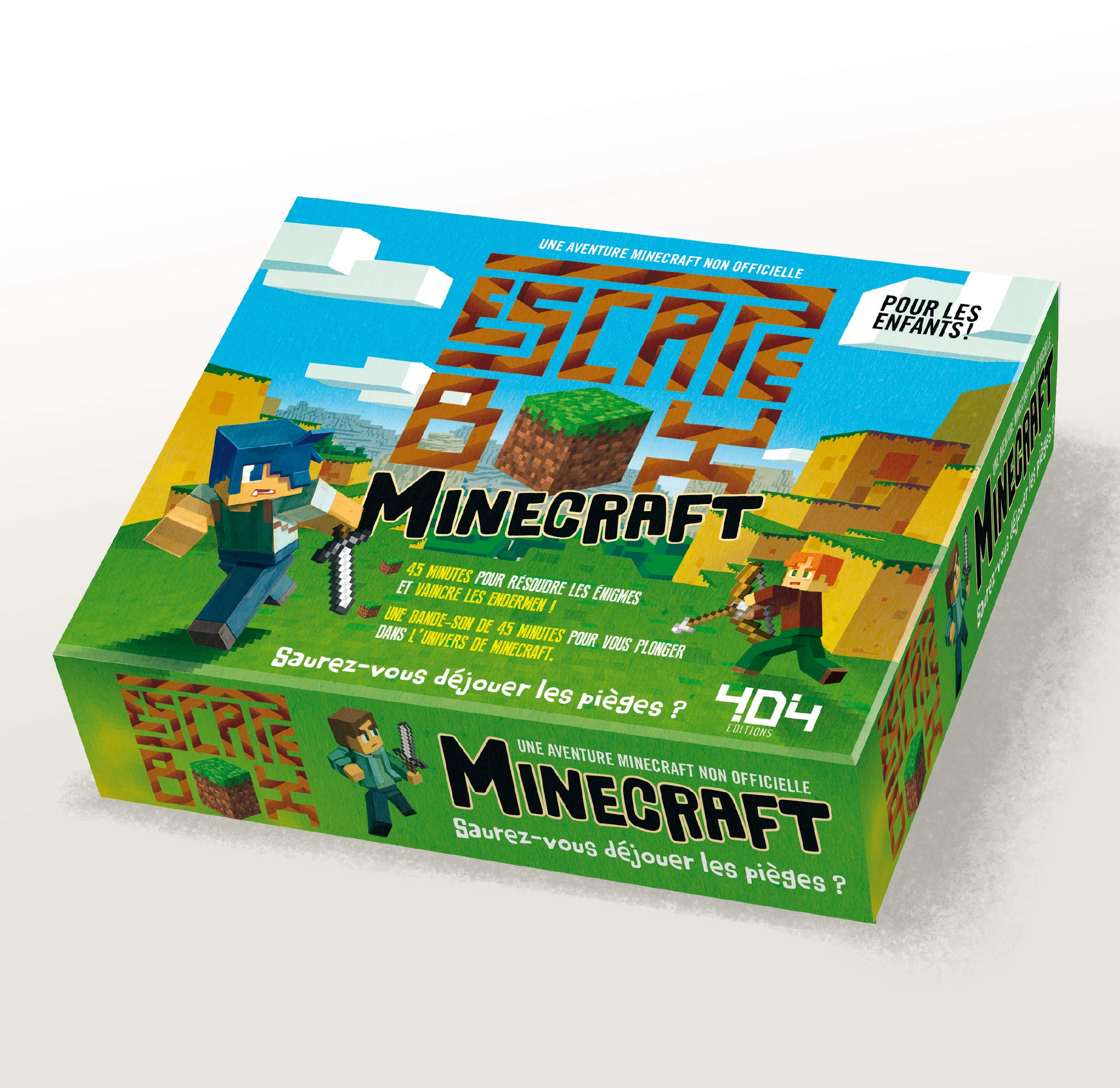 Minecraft (Escape Box): Amazon.es: Stéphane Anquetil: Libros ...