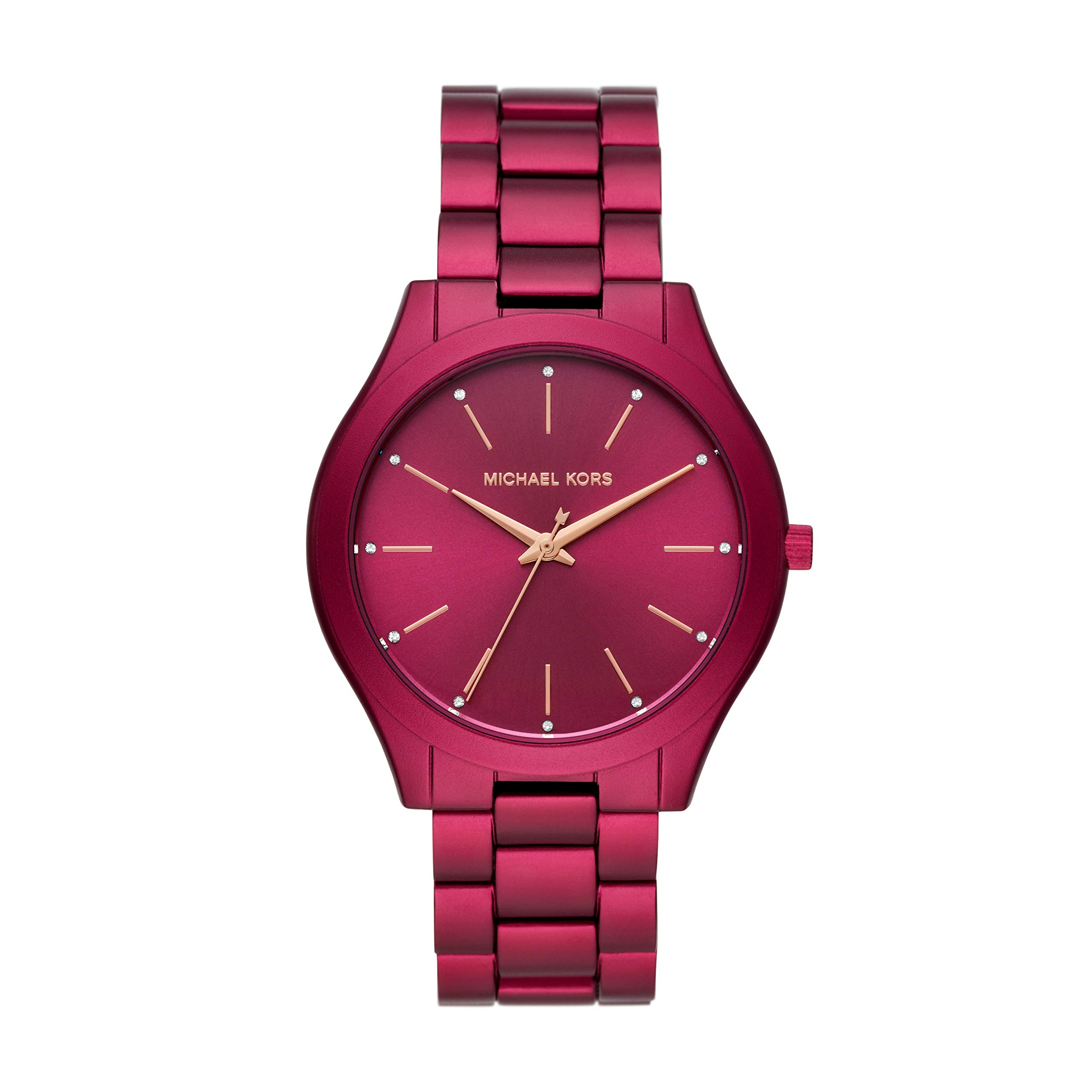 Michael Kors Slim Runway Three-Hand Watch