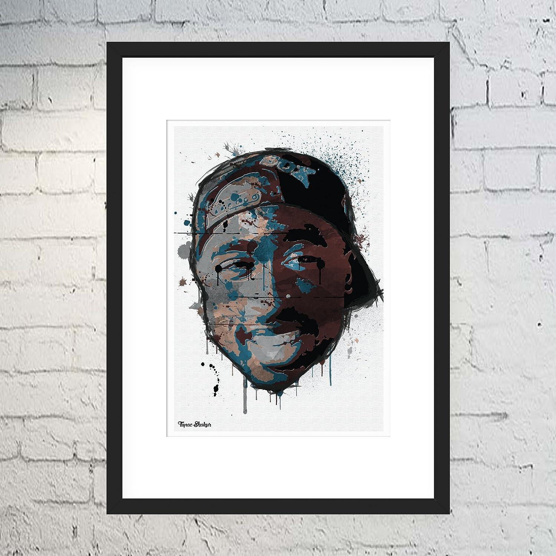Tupac Shakur Rapper Hip Hop Music 2Pac Art fabric poster 12x12 24x24 custom