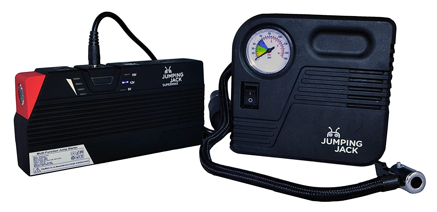 Jumping Jack Supermax Plus Portable Jump Starter: Amazon co