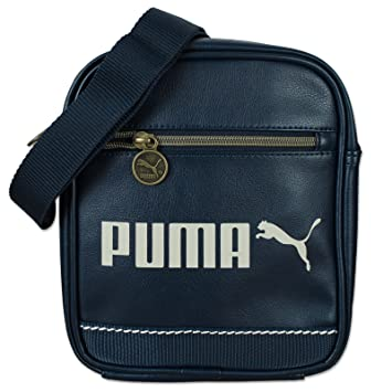b4fabc35d80 Puma Campus Portable Shoulder Bag blue peacoat Size:18 x 21 x 6 cm ...