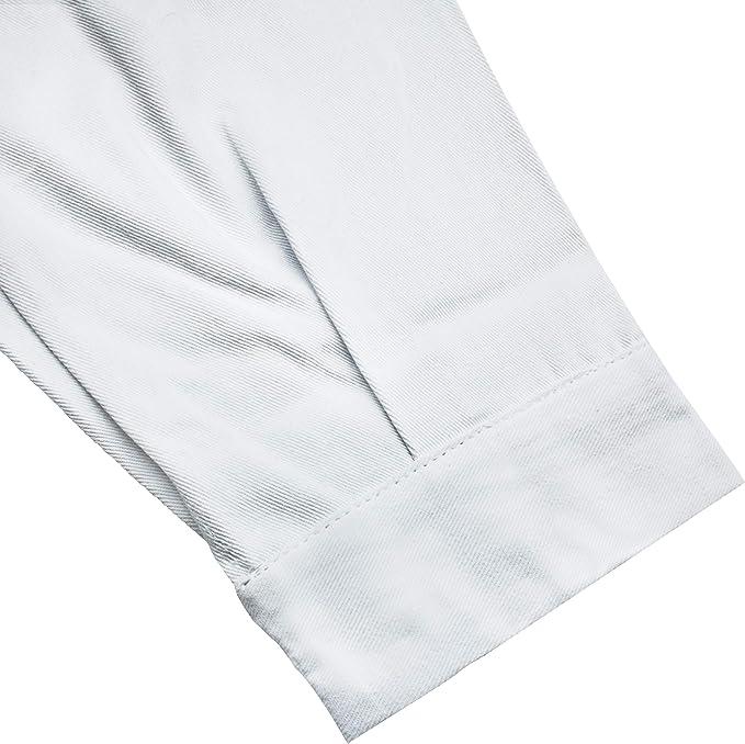 AIESI Camice per medico laboratorio da DONNA bianco in cotone 100/% sanforizzato MADE IN ITALY taglia 40