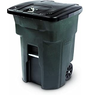 Amazoncom Rubbermaid Animal Stopper Trash Can 32 Gallon Olive