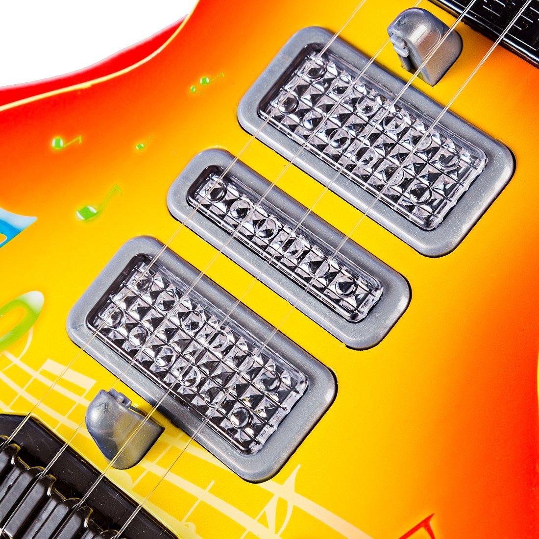 HMANE 4 Strings Electric Guitar Kids Musical Instruments ...