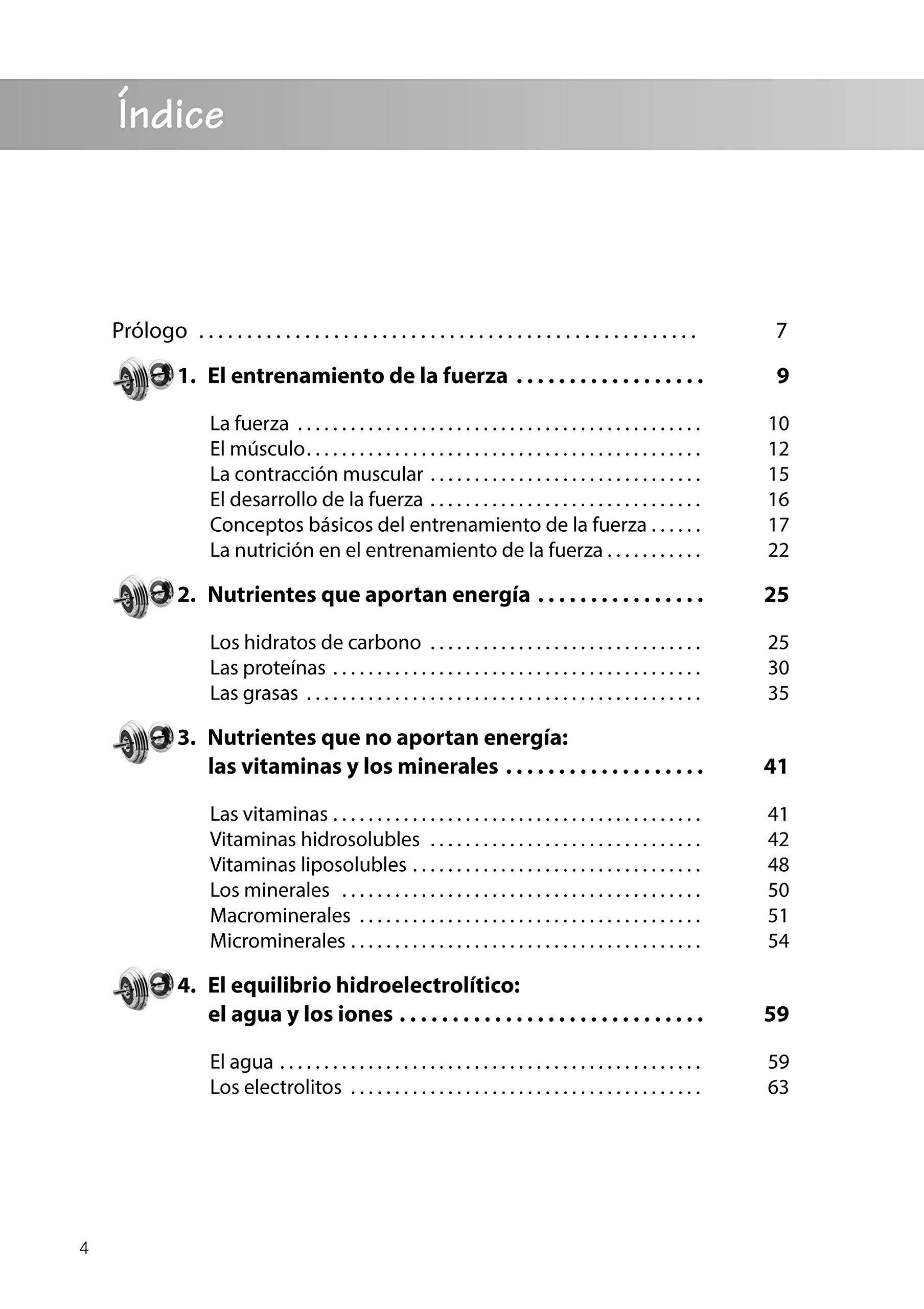 Guía De Nutrición Para El Entrenamiento De La Fuerza: Amazon.es: Alberto Muñoz Soler: Libros