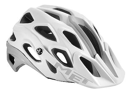 MET Lupo White Helmet 2016