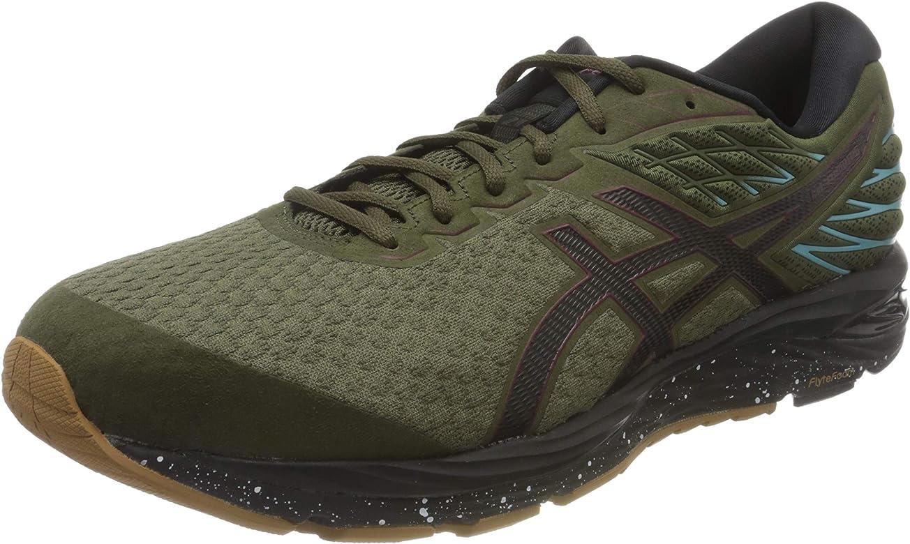 Asics Gel-Cumulus 21 Winterized 1011a635, Zapatillas de Running para Hombre, Verde (Khaki 1011a635/300), 40.5 EU: Amazon.es: Zapatos y complementos
