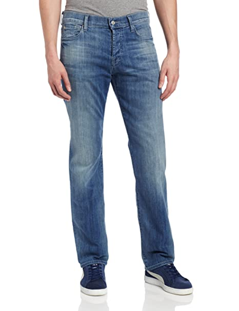 Amazon.com: 7 For All Mankind Mens Standard Straight Leg ...