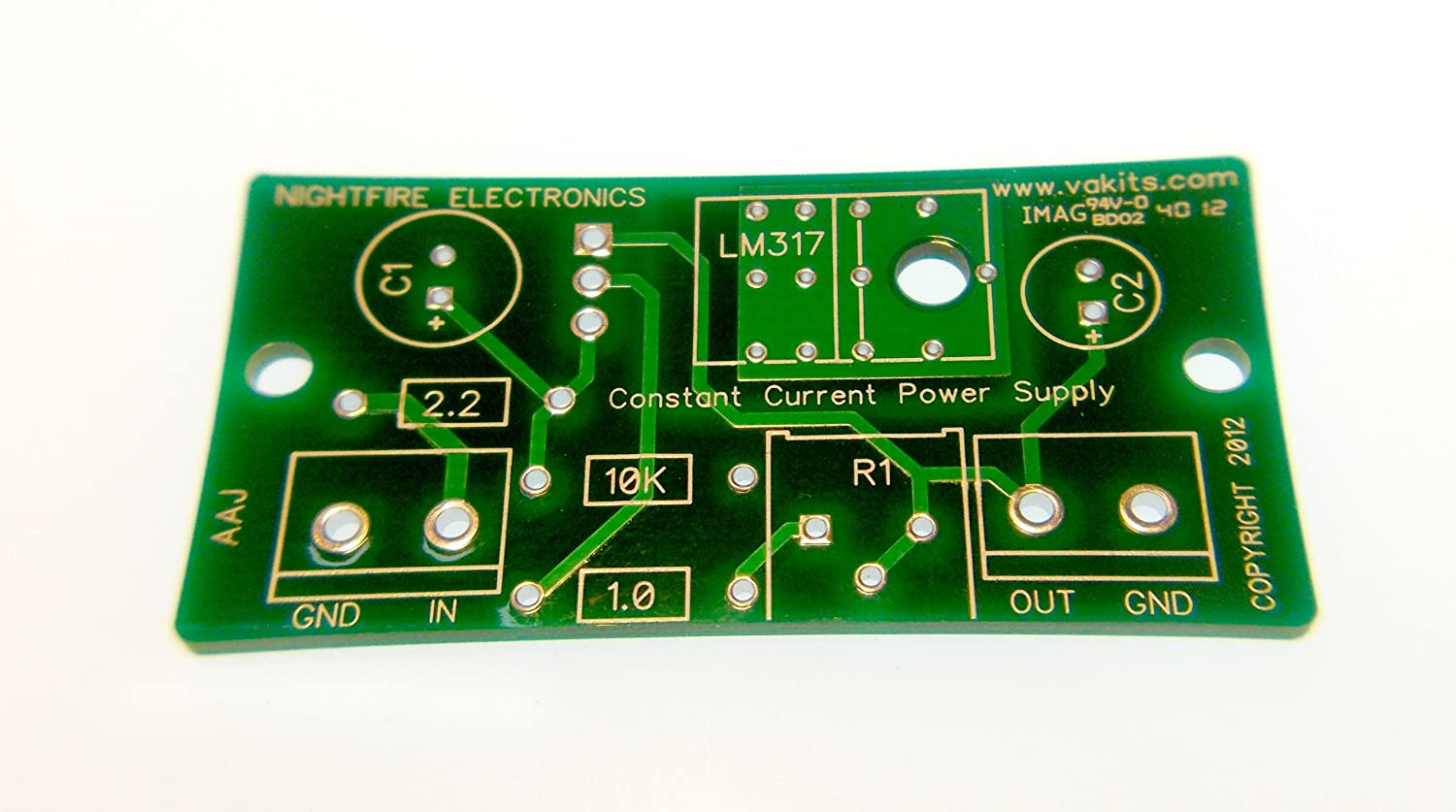 Constant Current Power Supply Kit 15ma Computers The Schematic For Max V12 Pcb Is Based On Lm317 Accessories