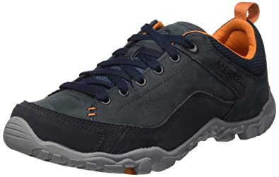 Mens Telluride Lace Low Rise Hiking Shoes Merrell Wkjyf
