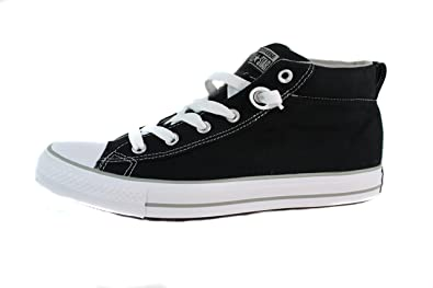 Converse Chuck Taylor All Star Leather Hi Black Phaeton Grey X13r7866