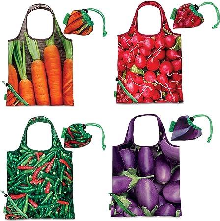 Sac de plastique Cabas Punta légumes sac cabas pliable Plus