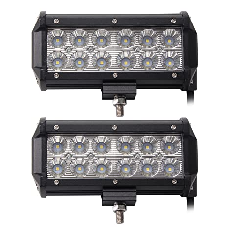 Amazon led light bar northpole light 2 x 7 36w waterproof cree led light bar northpole light 2 x 7 36w waterproof cree flood led light bar aloadofball Image collections