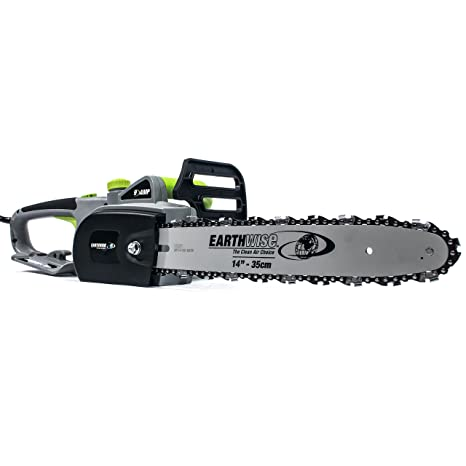Amazon earthwise cs31014 14 inch 9 amp corded electric chain earthwise cs31014 14 inch 9 amp corded electric chain saw greentooth Image collections