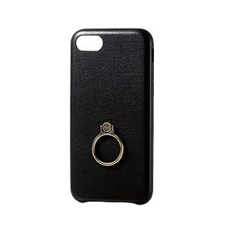 8bab5d1ffc エレコム iPhone8 ケース カバー レザー リング付き iPhone7 対応 PM-A17MPLOR
