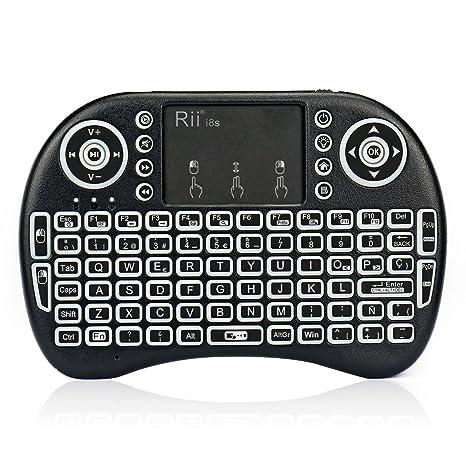 Rii mini i8s Mini teclado Inalámbrico (Layout Español): Amazon.es: Electrónica
