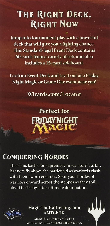 Magic The Gathering - Juego de Cartas Dragons of Tarkir (inglés): Amazon.es: Juguetes y juegos