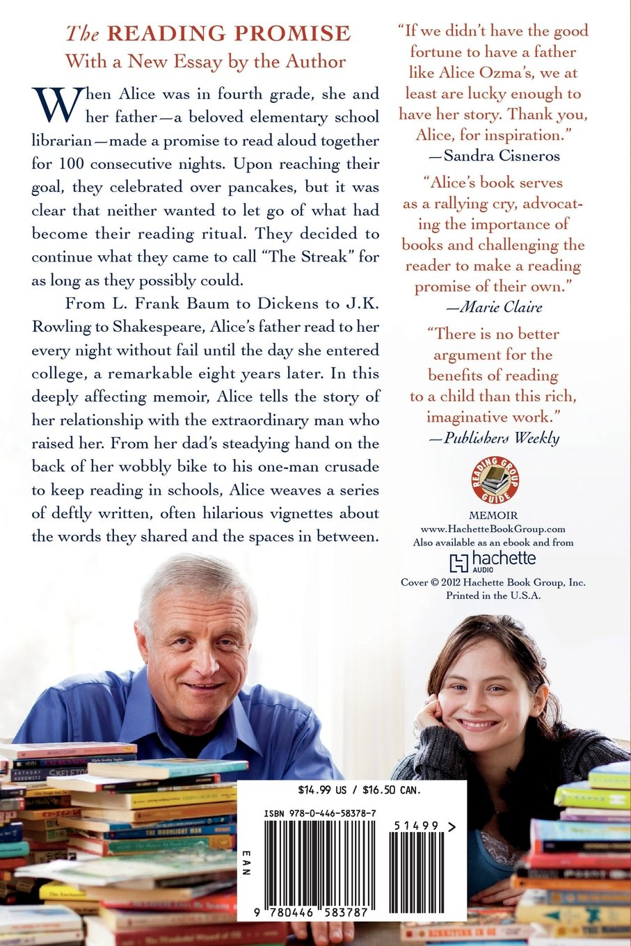 The Reading Promise: My Father And The Books We Shared: Alice Ozma:  Amazon: Books