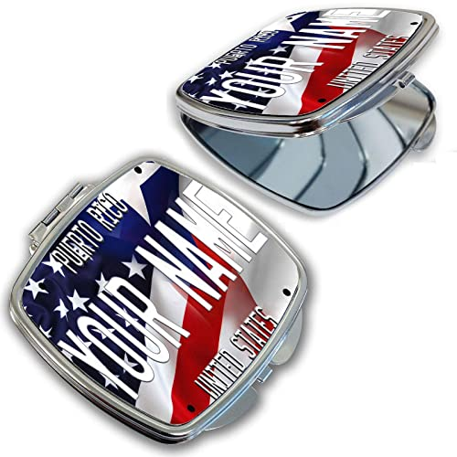 9f6cb25f4381 Amazon.com: BRGiftShop Personalize Your Own Mixed USA and Puerto ...