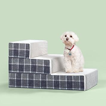 Amazon.com: Zinus - Escalera para mascotas, S: Mascotas