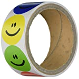 Amazon Price History for:Rhode Island Novelty 1 Roll of 100 Smiley Face Stickers, Primary Colors NIP (RN RSSMILE)