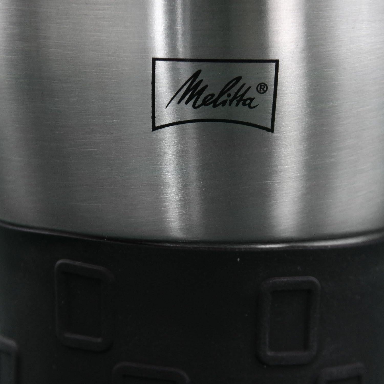 Totalmente Herm/ético Melitta 6758255 Taza Isot/érmica de 250 ml 0.25 litros Antigoteo Negro Base Antideslizante Pl/ástico