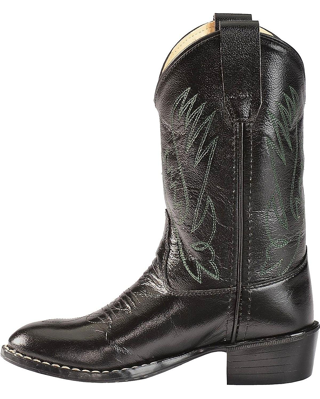 Ccy1110y Old West Boys Western Cowboy Boot Round Toe
