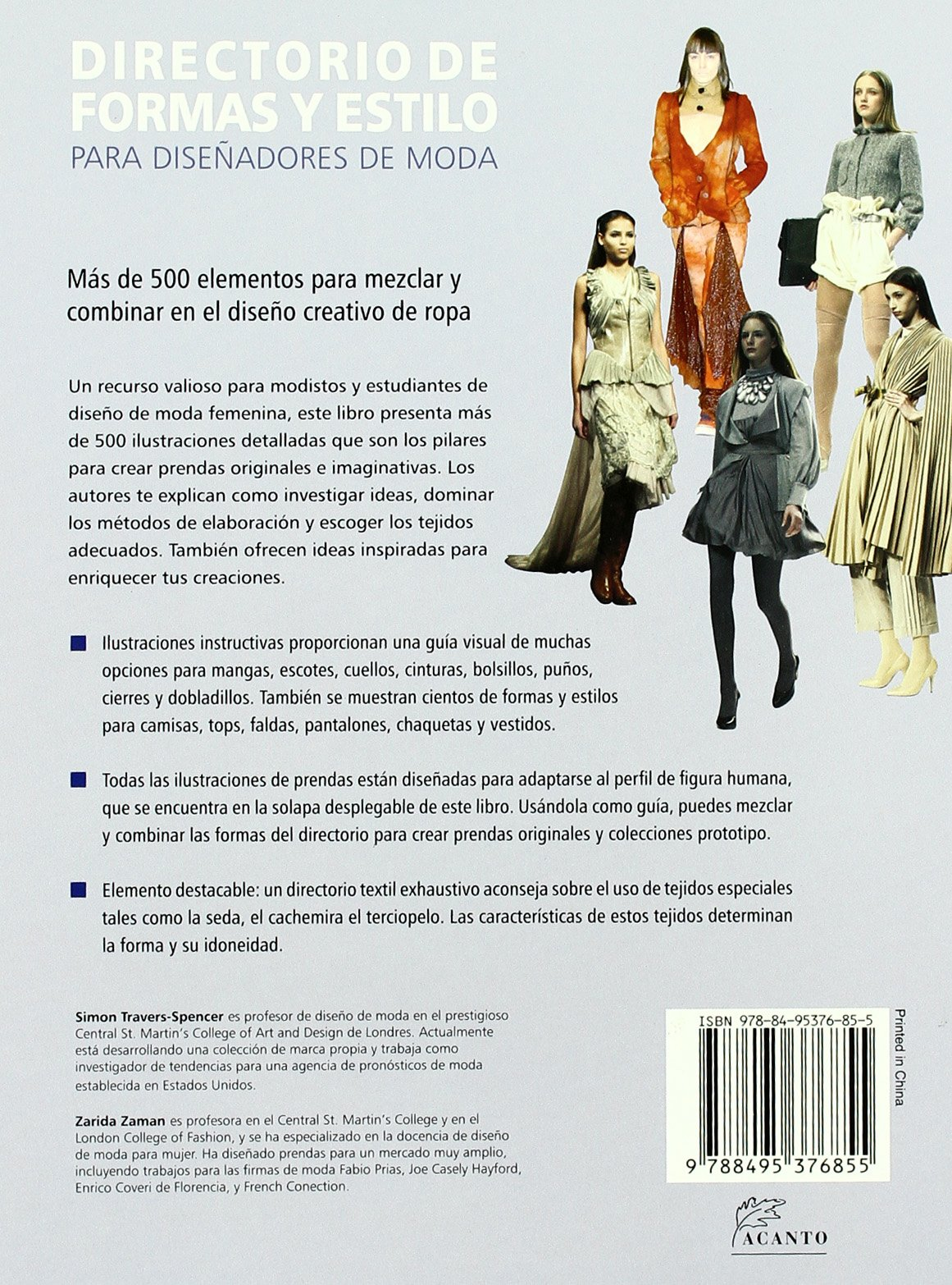 DIRECTORIO DE FORMAS Y ESTILO: Simon Travers-Spencer/Zarida Zaman: 9788495376855: Amazon.com: Books