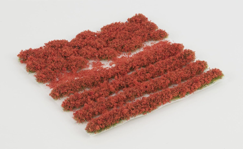 4mm oder 6mm Statische Grasfasern WWS Mohn Selbstklebende Streifen und B/üschel Set aus 2mm 4mm