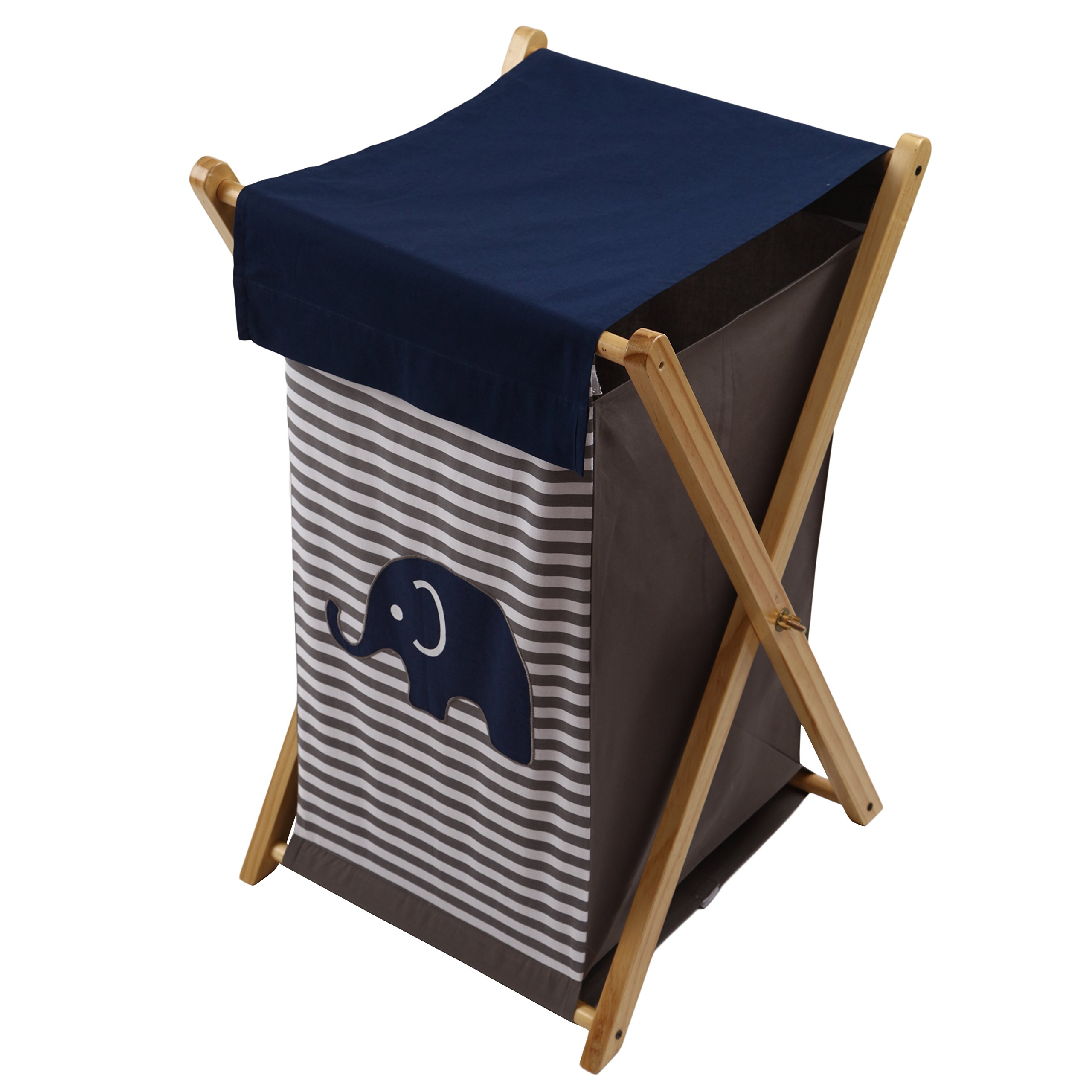 Elephants Blue/Grey Hamper