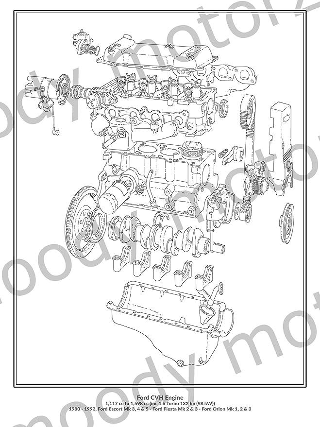 Ford Escort Engine Diagram