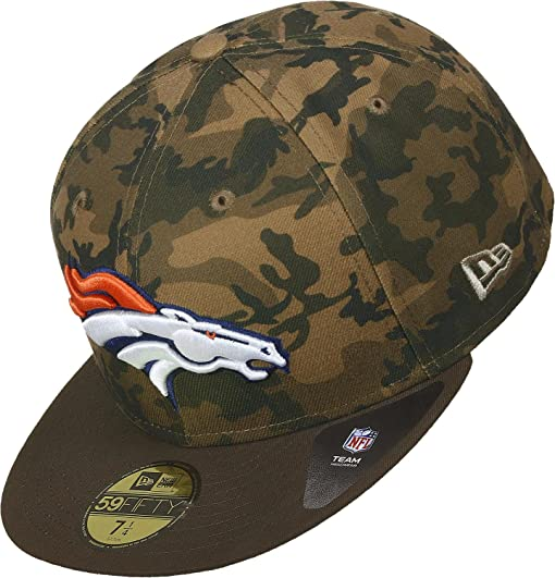 New Era Camo Denver Broncos Gorra woodland