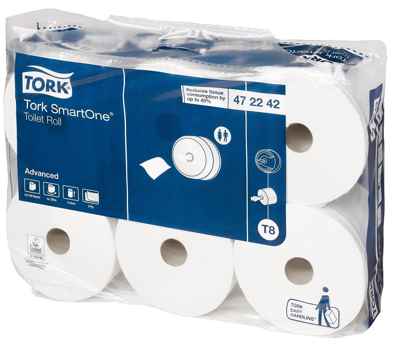 SCA TORK Smartone Toilet Roll, Pack of 6 SCA HYGIENE JT472242