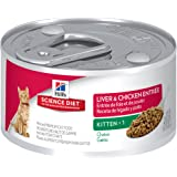 Hill's Science Diet Kitten Minced Cat Food, 24-Pack