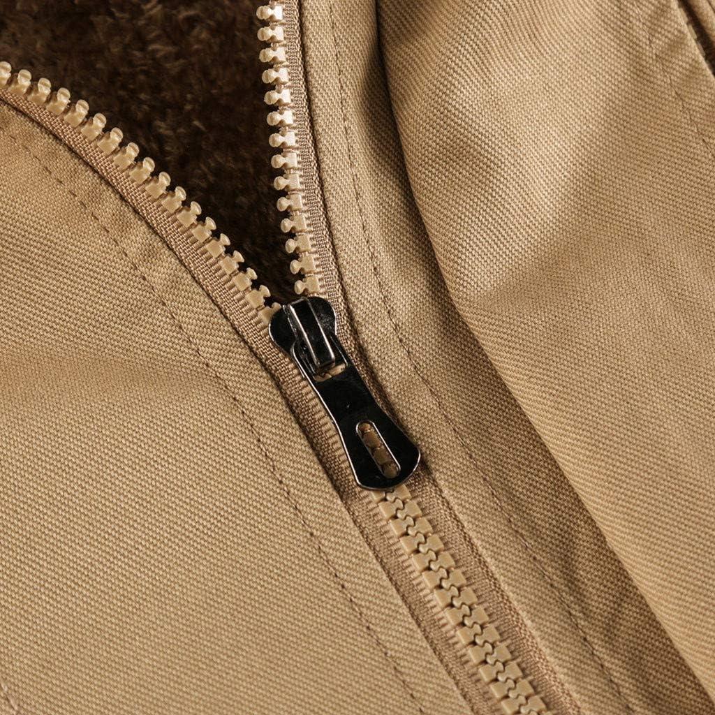 Briskorry Mens Motorcycle Jacket Windbreaker Jacket Softshell Winter Thicken Fur Lined Warm Coat Oversized Outwear
