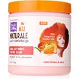 SoftSheen-Carson Dark and Lovely Au Naturale Anti-Shrinkage Curly Hair Products, Curl Defining Creme Glaze, Mango Oil and Bam