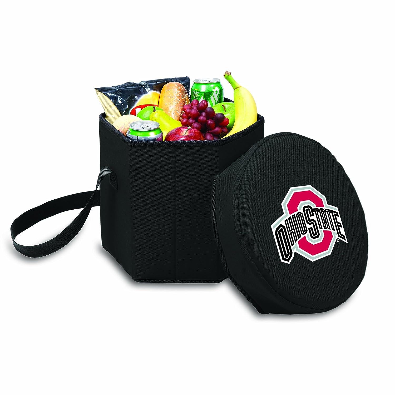 NCAA Ohio State Buckeyes Bongo Insulated Collapsible Cooler Black