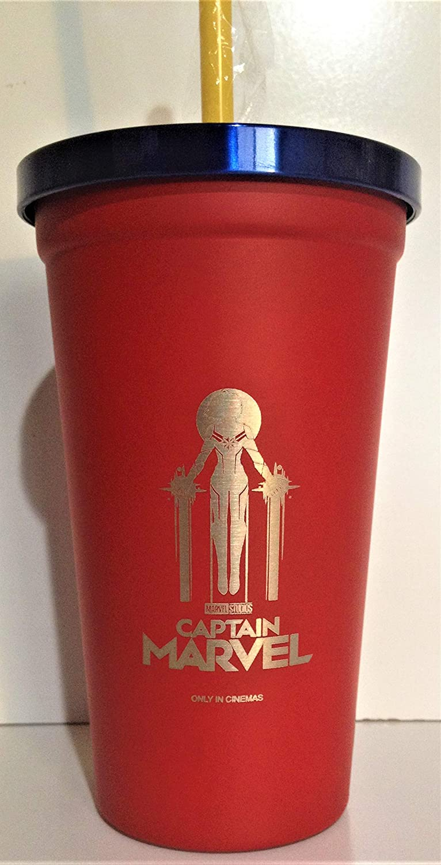 Marvel Comics: Captain Marvel 2019 Movie Theater Exclusive 22 oz Steel Cup