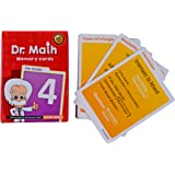 Logic Roots Dr Math Grade 1/2/3/4/5 Flash Cards to Build Concept Clarity,Memory and Recall