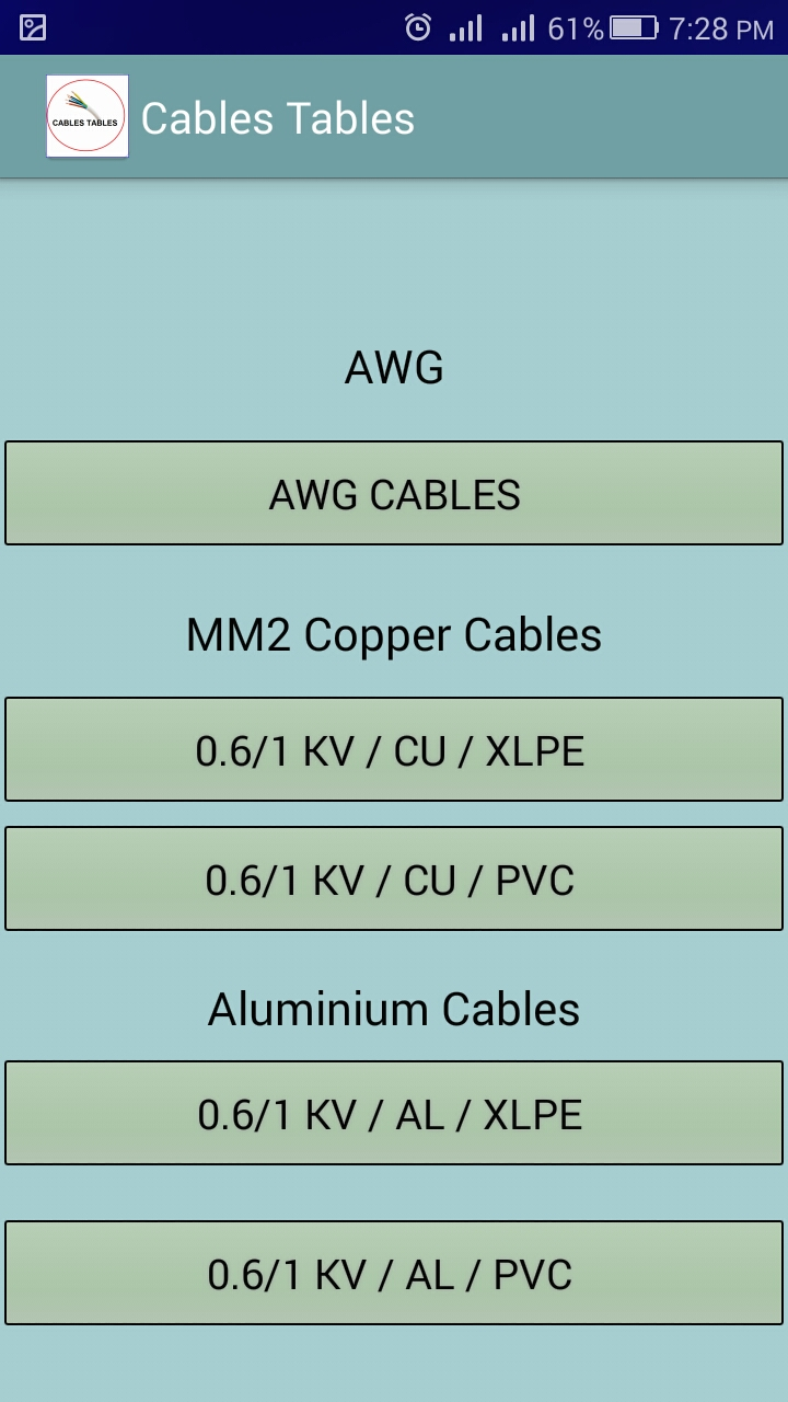 Amazon electrical cables tables cable sizer calculator 000 keyboard keysfo Image collections
