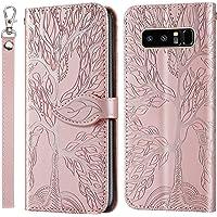 Hoesje voor Samsung Galaxy Note 8 Wallet Book Case, Magneet Flip Wallet Slim Beschermende Telefoonhoes met Kaarthouders…