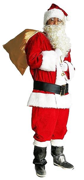 Amazon.com: Disfraz Orolay de Papá Noel para hombres ...