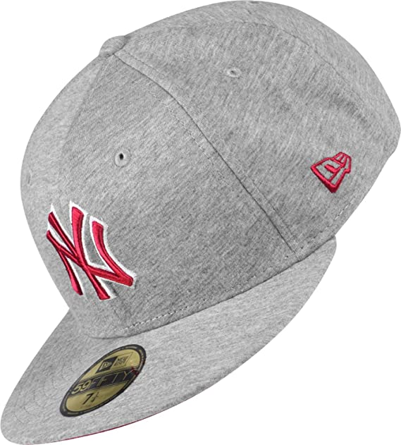 New Era Jersey Basic 2 MLB NY Yankees - Gorra gris Talla:7, 25 ...