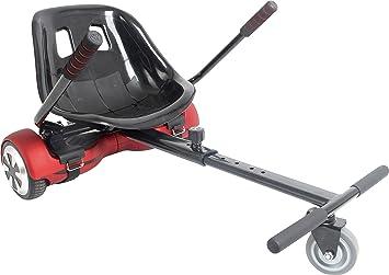 iScoot © Hoverkart Go Kart Adjustable For HoverCart Conversion Kit - Fits  All Hoverboard Swegways - 6 5