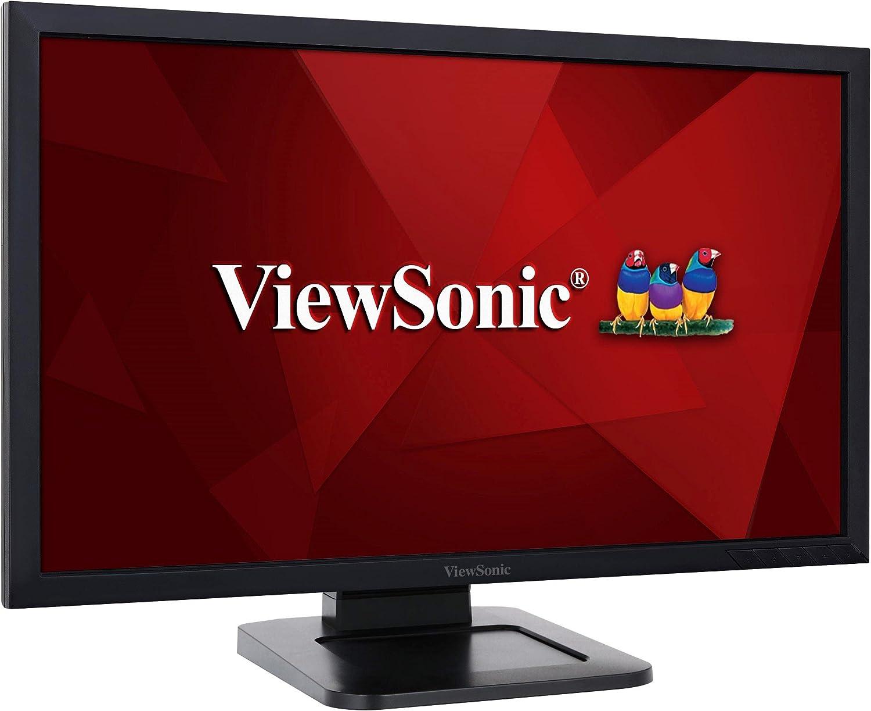 Viewsonic Td2421 59 9 Cm 24 Zoll Touch Monitor Full Hd Va Panel Hdmi Lautsprecher Usb