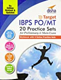 Target IBPS Bank Preliminary & Main PO/MT Exam 20 Practice Sets Workbook - 16 in Book + 4 Online